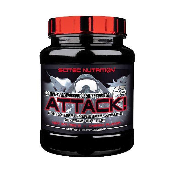 Scitec Nutrition ATTACK! 2.0, 25x10g