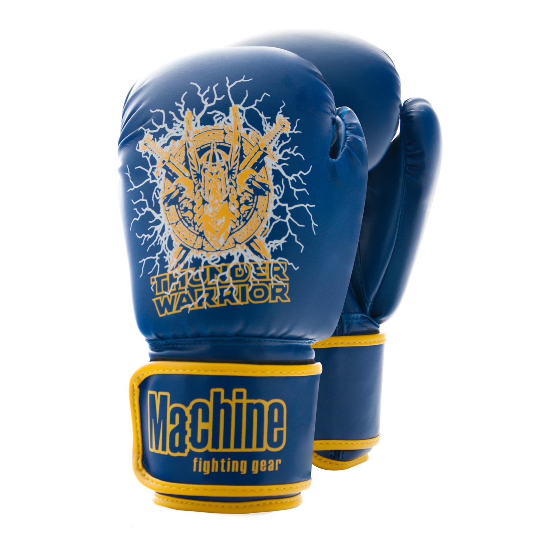 Boxerské rukavice Machine THUNDER WARRIOR - modré