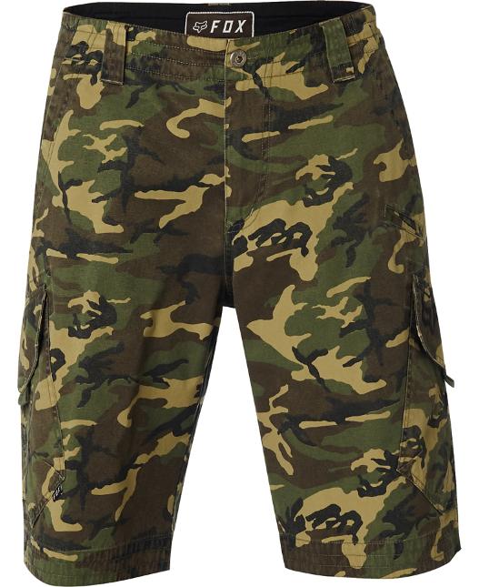 Pánské kraťasy Fox Slambozo Camo Cargo Shorts