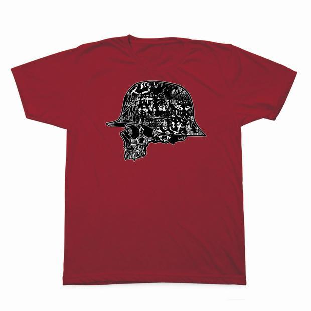 Pánské triko Metal Mulisha Case - červené