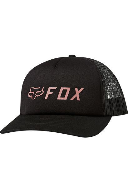 Kšiltovka FOX APEX TRUCKER HAT - Black/Pink