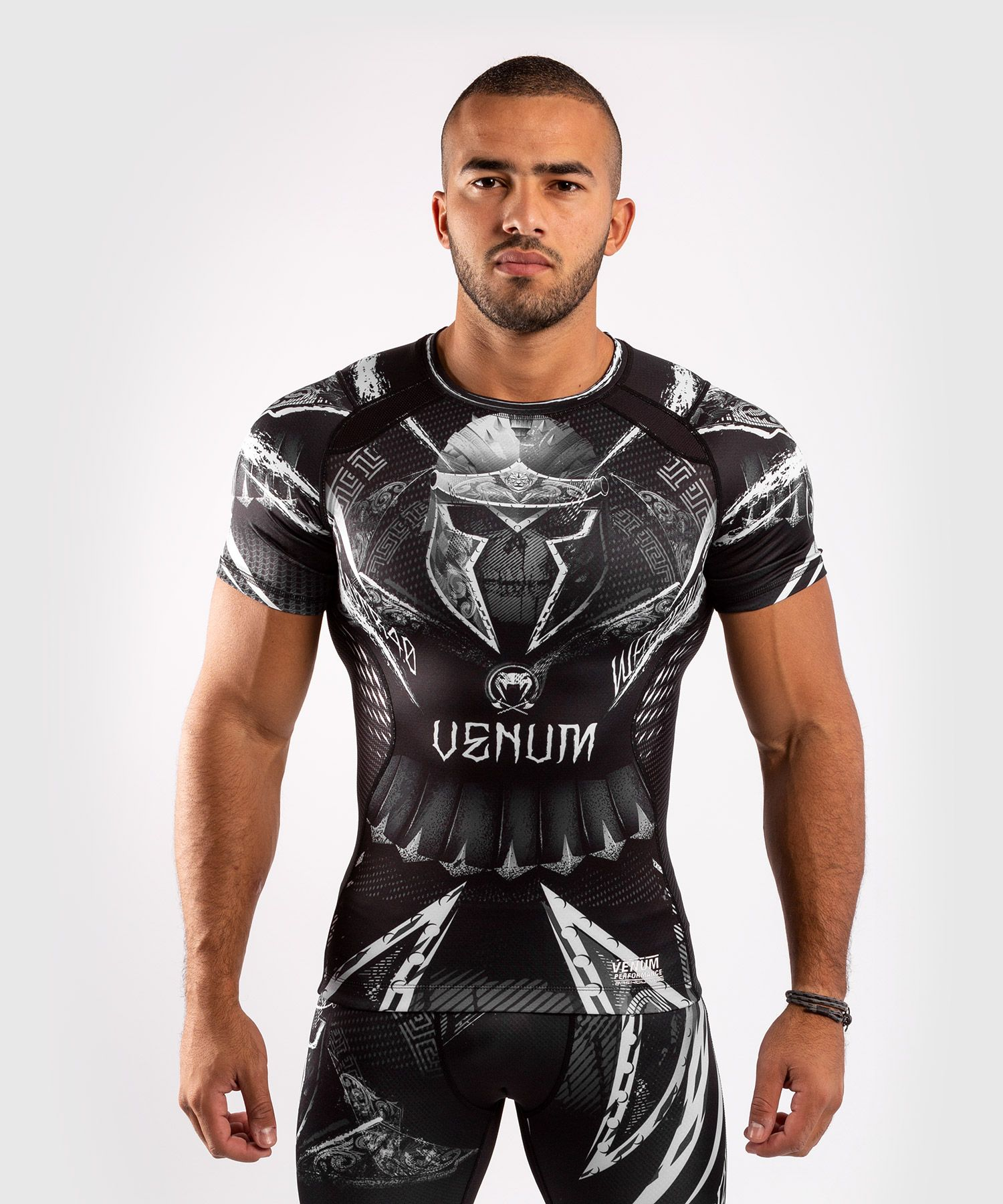 Rashguard VENUM GLADIATOR 4.0 kr. rukáv - black